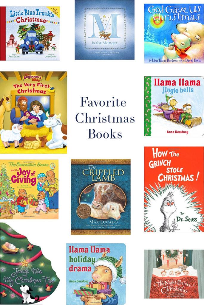 favorite christmas books holiday toddler children