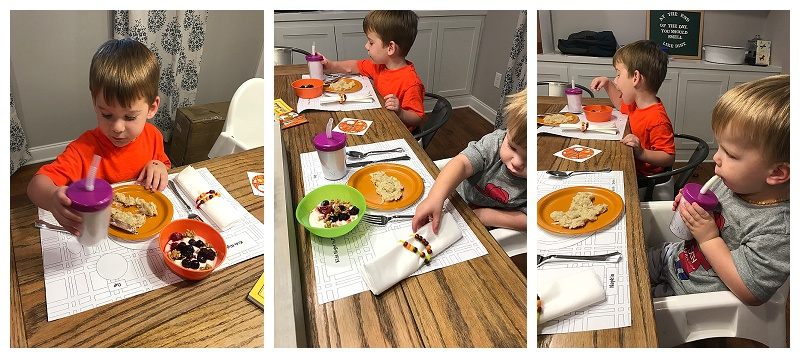 Kids Night In Box // Mind Your Manners