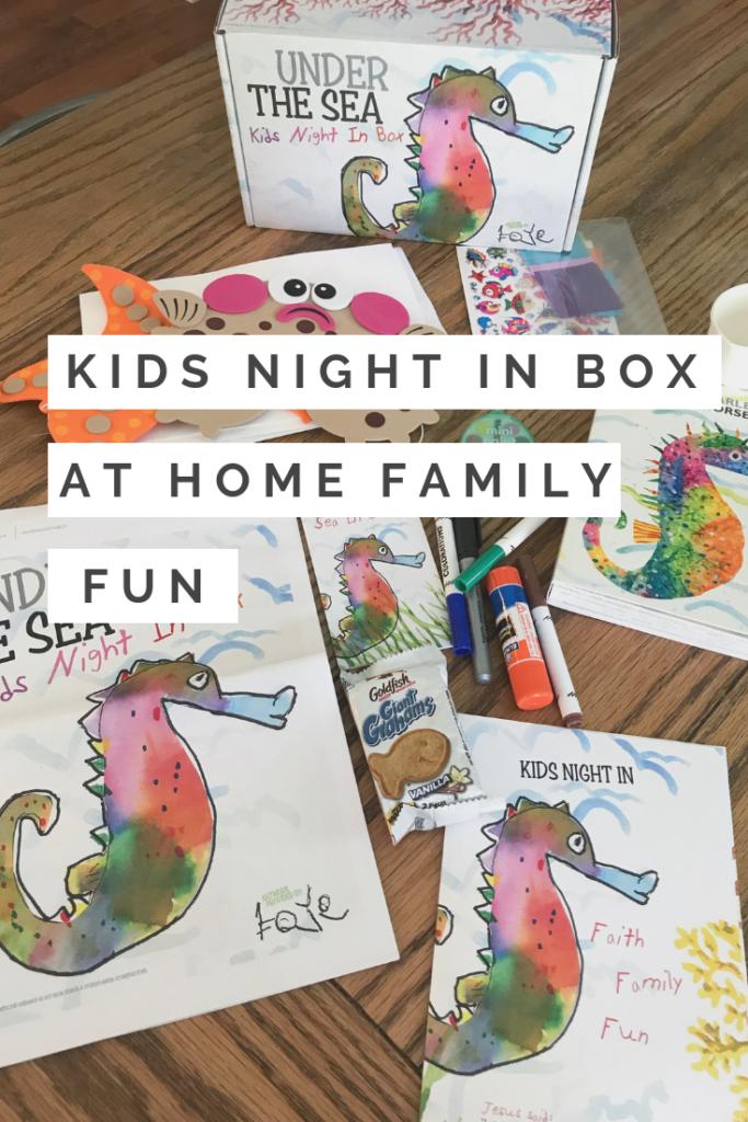 Kids Night In Box // Under the Sea