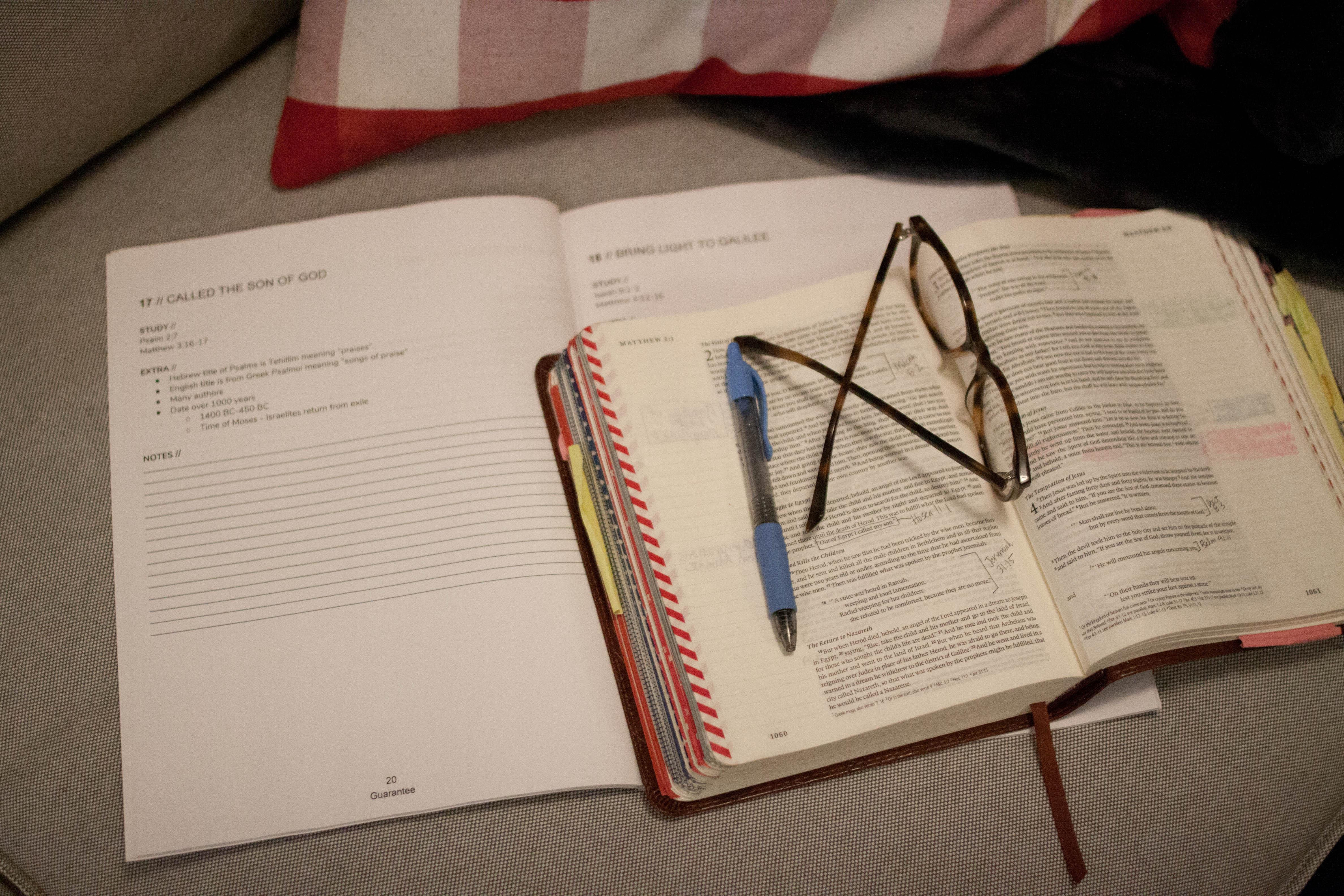 Guarantee Bible Study